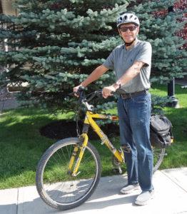 Peter Bibby Biking